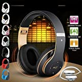 Leyeet P15 Turbine Hurricane Bluetooth 4.1 Wireless Stereo Kopfhörer Sport Kopfhörer Wasserdichte Kopfhörer (Color : Gold)