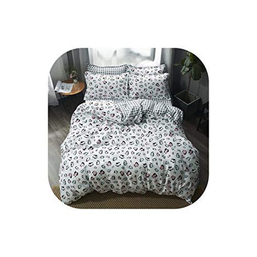 Bettwäsche für Kinder Bettwäsche-Sets Cactus 4 Stück 180 * 220 Bettbezug-Set Heimschlaf, 5, Voll, flaches Blatt (Bettwäsche Für Kinder, Zweibettzimmer)