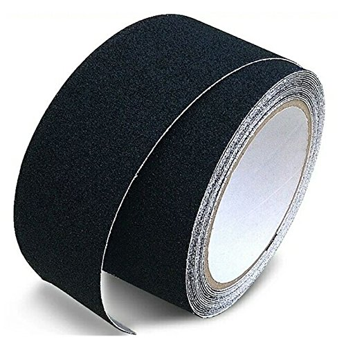 BJ-Shop Schritte Band,Sicherheitsbänder Hochfeste Sicherheitszeichen Starker Griff Abrasives Anti-Rutsch-Band für Innen- und Außentreppen 50mmX5m