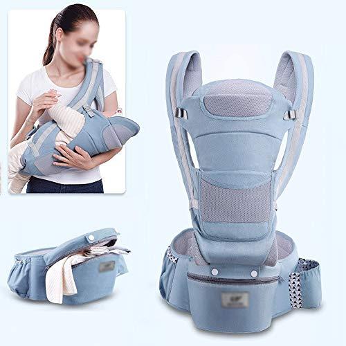 LQRYJDZ Porte-bébé 3-en-1, 15 méthodes de dos, Porte-bébés réglable, bébé Sac à dos ergonomique, prévenir les jambes O, avec un grand sac de capacité de stockage, for les bébés nouveau-nés 0-48 Months