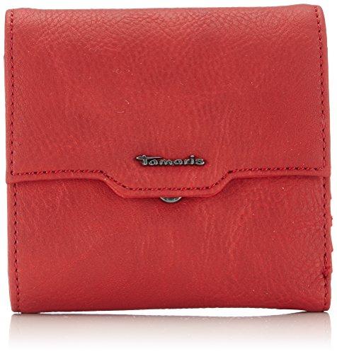 Tamaris SANDY Small Wallet with Flap 7032151-503 Damen Geldbörsen 12x11x2 cm (B x H x T), Rot (cadmio) (Flap Tote Tasche Kleine)