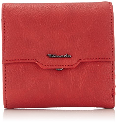 Tamaris - Sandy Small Wallet With Flap, Portafoglio Donna Rosso (Rot (cadmio))