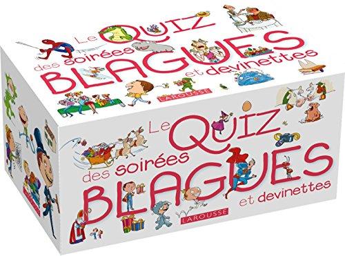 Le Quiz des Soirées blagues et devinettes par Clémence Roux de Luze