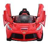 Goplus 2.4G La Ferrari Rot Ride-on Kinder Elektrofahrzeug Kinderfahrzeug Elektroauto - 3