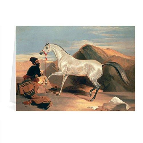 Lytton Strachey, (1880-1932) 1916 (oil on.. - Grußkarten (2er Packung) - 17,8x12,7 cm - Standardgröße - Packung mit 2 Karten - Art247