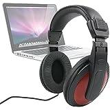 Casque audio léger & confortable DURAGADGET pour Apple Macbook Pro, Air, Retina et Samsung Ativ Book 2 NP270E5G-K07FR et 9 Lite NP905S3G-K04FR Ultra Portable