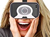 "Ocular Flash Virtual Reality Glasses – Fully Adjustable VR Headset with 42 MM Lenses - Compatible With 4.5""-6"" Android Smartphones, iPhone, Samsung Galaxy, Lenovo, HTC, Micromax, Xiaomi, Redmi, Moto, One Plus – VR Glasses For 360 Videos, 3D Movies, VR Pictures, VR Games - Inspired by Google Cardboard, Oculus Rift, Shinecon, Samsung Gear."
