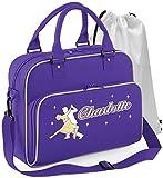 Best Solo Messenger Bag For Teachers - Ballroom Dancing - Dancing Couple - Purple Review