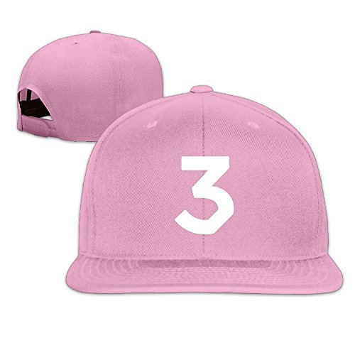 Adult Chance The Rapper No.3 Coloring Book Flat Bill Baseball Cap Unisex