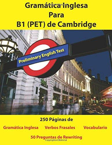 Gramatica Inglesa Para B1 PET de Cambridge