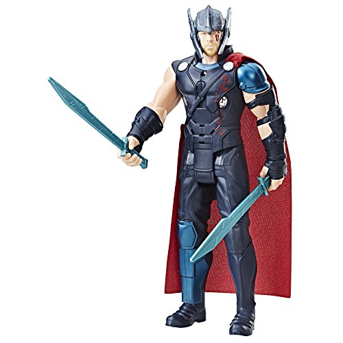 0EU4 - Elektronischer Titan Hero Thor, Actionfigur (Age Of Ultron Captain America Kostüm)