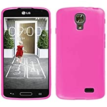 TBOC® Funda de Gel TPU Rosa para LG F70 D315 de Silicona Ultrafina y Flexible