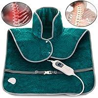 ADEPTNA Weiches elektrisches Heizkissen zur Schmerzlinderung im Nacken, Schulterschmerzen, mit 3 Wärmestufen und... preisvergleich bei billige-tabletten.eu