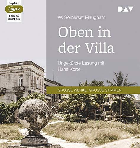 Somerset Cd (Oben in der Villa: Ungekürzte Lesung mit Hans Korte (1 mp3-CD))