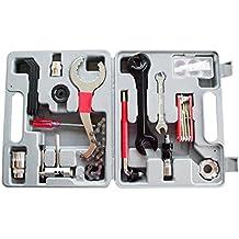 29pcs herramientas de Reparación de Bicicleta de montaña Mantenimiento Kits emergencia