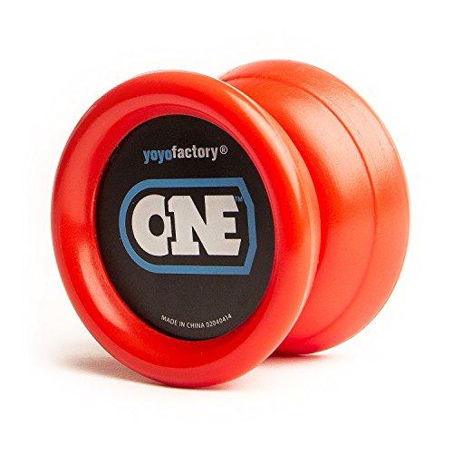 yoyofactory YO-002 - Yoyo, inklusive 2 Lager, rot