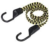 Keeper 06118Ultra 121,9cm schwarz/gelb flach Bungee Cord