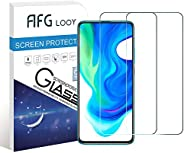 AFGLOOY 2Pack, Screen Protector Compatible with Poco F2 Pro, Tempered Glass for Xiaomi Poco F2 Pro, 9H Hardnes