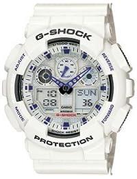 cba04d840650 Casio G-Shock Classic Serie color blanco reloj ga100 ...