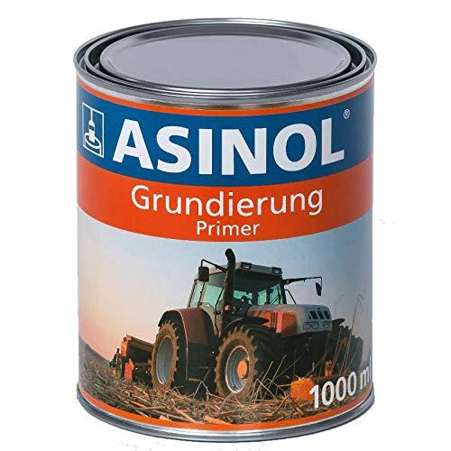 ASINOL GRUNDIERUNG GRAU 1000 ml Kunstharzlack Farbe Lack 1l Liter Dose -