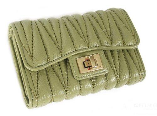Violett - ANGEL Clutch Wallet green
