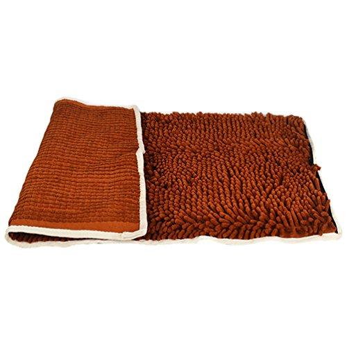 LvRao Hund Handtücher, Bademantel Absorbierende Schnell Trocknend Haustier Badetücher für Hunde und Katzen (Dunkel Kaffee, 74 * 38cm)
