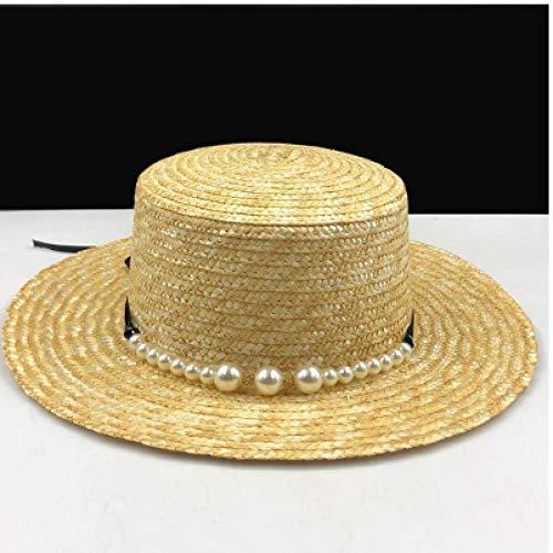 FSDMNFHJEI Womens Beach Summer Sonnenschutz für Dame Elegant Queen of Round Top Plate Bowknot