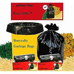 60 Bolsas de basura ecológicas grandes y resistentes (60cm x 81cm)