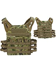 JPC combate chaleco molle Airsoft Paintball militar CP