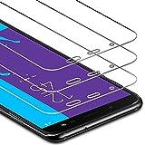 Zloer [3 Pièces] Verre Trempé Samsung Galaxy J6 2018 Film Protection écran,9H Dureté,sans...