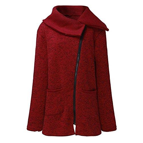 Btruely Hoodie Pullove Damen Beiläufig Lange Ärmel Strickjacke Zipper Jacke Damen Mantel …