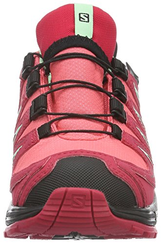 Salomon Xa Pro 3d, Chaussures de Trail Mixte Enfant Rose (Madder Pink/Lotus Pink/Lucite Green)