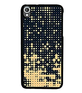 Fiobs Designer Back Case Cover for HTC Desire 820 :: HTC Desire 820 Dual Sim :: HTC Desire 820S Dual Sim :: HTC Desire 820Q Dual Sim :: HTC Desire 820G+ Dual Sim (jaipur rajasthan african america cross pattern)