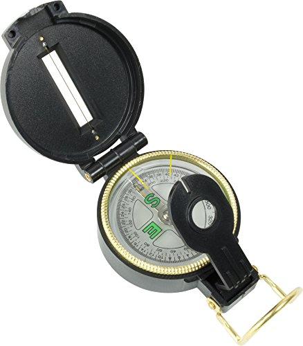 Scout Kompass mit Visiereinrichtung, flüssigkeitsgedämpft (Visiereinrichtung)