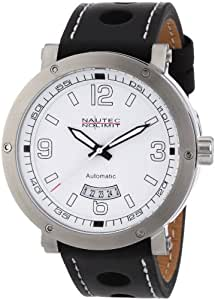 Nautec No Limit Herren-Armbanduhr Shamal SM AT/LTSTWH-BK