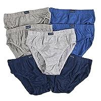 Lora Dora Boys Cotton Briefs (Pack of 7) Blue/Navy/Grey 3-4 Years