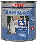 Wilckens 2-in-1 Weisslack glänzend, 750 ml, weiß 10491100050