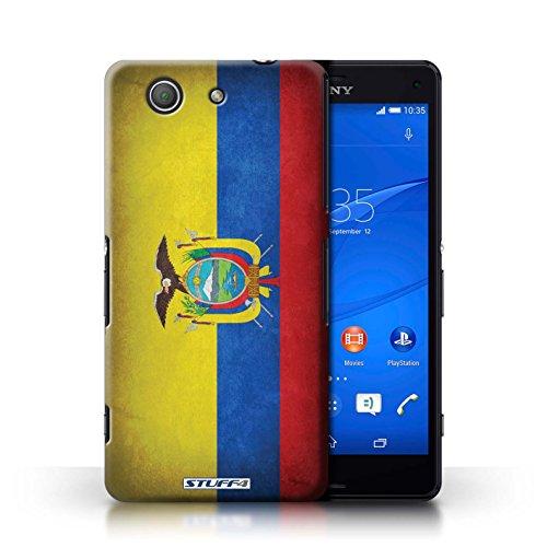 Kobalt® Imprimé Etui / Coque pour Sony Xperia Z3 Compact / Algérie conception / Série Drapeau Equateur/équatorien