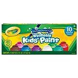 Crayola Washable Kids Paint set of 10 Bo...