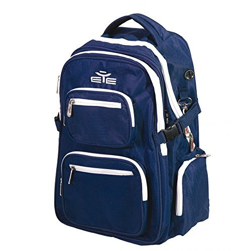 EYE Sport - Beach Volley Back Pack - Navy Blue-Giallo, CM 45x15x30 Navy Blue-Bianco