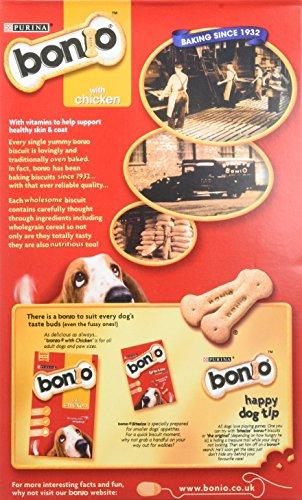 Bonio Biscuits Dog Food Chicken Flavour 650g (Case of 5) 5