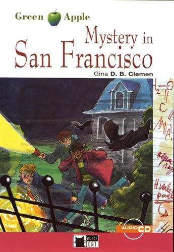 Mystery in San Francisco. Con audiolibro. CD Audio (Green apple) por Gina D. Clemen