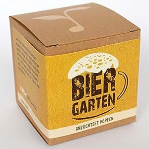 """Geschenk-Anzuchtset """"Biergarten"""" – Echter Brauhopfen"""