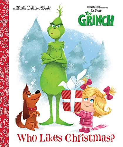 Who Likes Christmas? (Illumination's the Grinch) (Dr. Seuss' The Grinch: Little Golden Books) por Golden Books