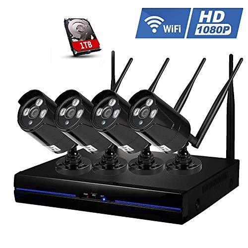 Security Camera Set Outdoor Wifi...
