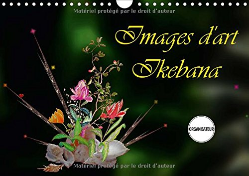Images d'art ikebana : Calendrier mural A4 horizontal 2016 (Calvendo Nature)