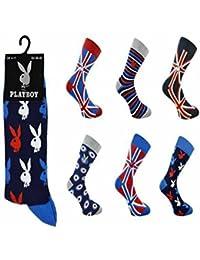 Playboy - Chaussettes de sport - Homme noir noir 40-45