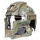 YAHAMA WST Fast Helm Taktische Helm Softair Militär Helm Sturzhelm Paintball Helm Maske für Airsoft Paintball