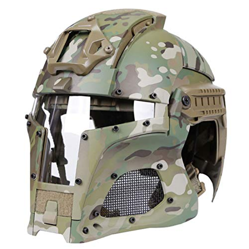 YAHAMA WST Fast Helm Taktische Helm Softair Militär Helm Sturzhelm Paintball Helm Maske für Airsoft Paintball