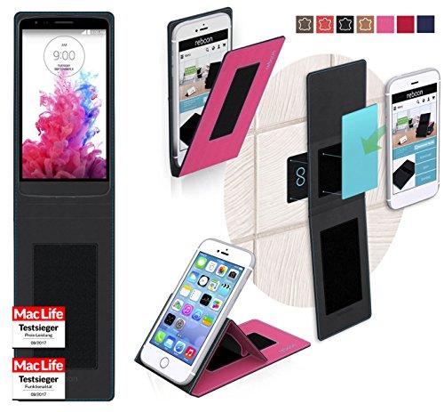 reboon Hülle für LG G3 Stylus Tasche Cover Case Bumper | Pink | Testsieger